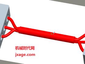 Proe5.0三维布线详细教程(三)多芯电缆布线