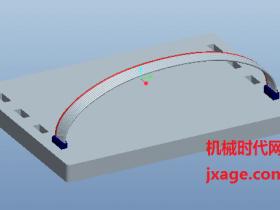 Proe5.0三维布线详细教程(四)扁平线