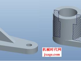 Proe工程图(十二)如何处理筋(肋)特征的剖面线