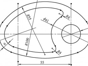 SolidWorks经典草绘练习题(一)