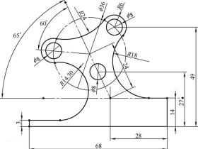 SolidWorks经典草绘练习题(二)