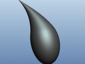 Proe使用可变截面创建雨滴的方法