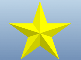 Proe可变截面扫描练习(四)一步创建五角星