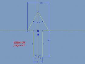 Proe如何使用点阵列(二)通过内部草绘创建