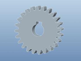 Proe创建直齿圆柱齿轮