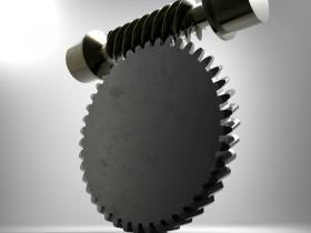 Proe5.0涡轮蜗杆模型下载