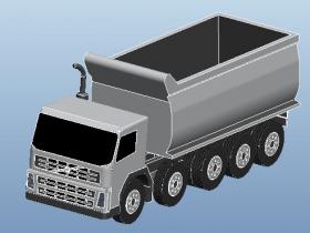 Proe5.0卡车模型下载