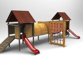 Proe游乐园模型下载
