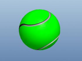 Proe棒球模型下载