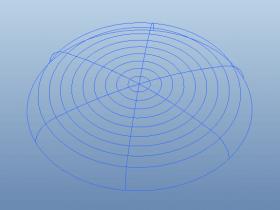 Proe如何使用阵列创建风扇前罩?