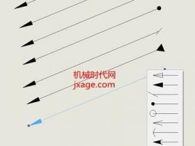 SolidWorks如何在工程图添加箭头?