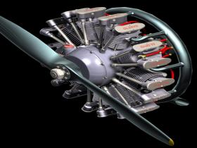 PROE气缸发动机模型下载