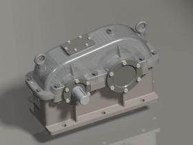 Proe减速器模型下载
