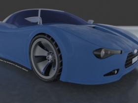 Proe超级跑车模型下载