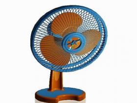 Proe电风扇模型下载