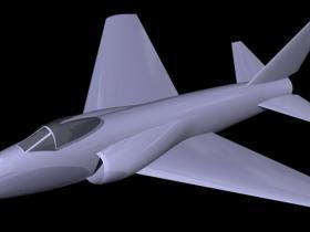 Proe玩具战斗机模型下载