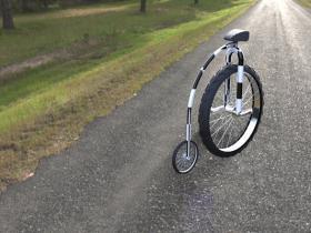 Proe一款有趣的自行车