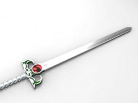 Creo Elements 神秘之剑模型下载