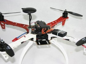 Solidworks大疆无人机F450模型下载