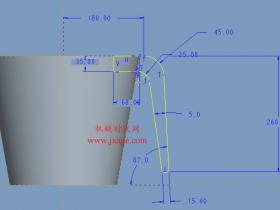 Proe如何自动锁定修改后的尺寸?