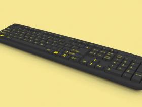 SolidWorks电脑键盘模型下载