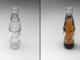 Proe可口可乐瓶模型下载