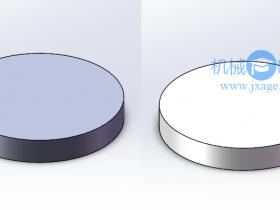 SolidWorks如何修改模型的默认颜色?
