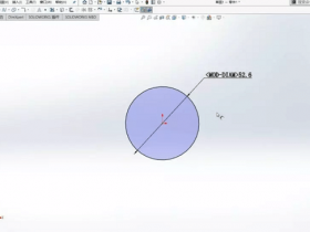 Solidworks直径尺寸标注是字母而不是符号怎么解决?