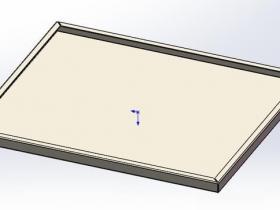 SolidWorks如何在钣金模块中创建方盒?