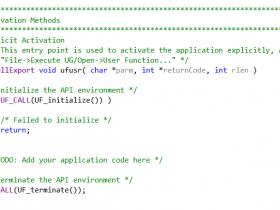 NX二次开发(2):开发模式简介