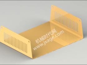 SolidWorks钣金设计(3):仪表盘