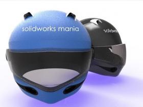 SolidWorks头盔模型下载