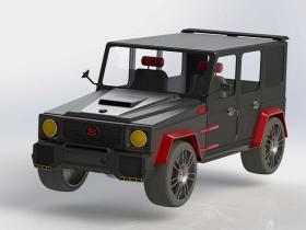 Solidworks奔驰汽车模型下载