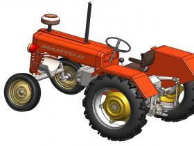 Solidworks拖拉机模型下载