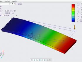 Creo Simulate有限元分析(2):施加力载荷