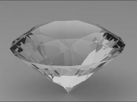 Creo如何创建钻石并进行渲染?