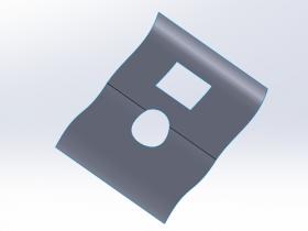SolidWorks如何快速删除曲面上的孔?