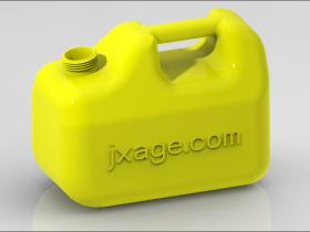 Creo如何创建油桶并进行渲染?
