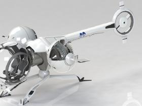 Solidworks遗落战境飞行器模型下载