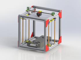Solidworks 3D打印机模型下载