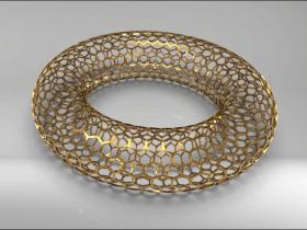 SolidWorks建模练习(16):六边形镂空圆环