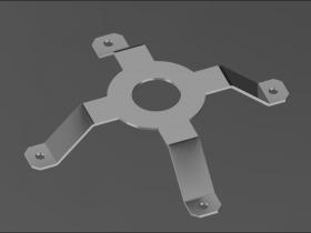 Creo钣金建模(1):支架