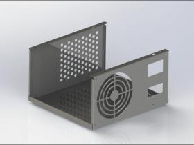 SolidWorks钣金设计(4):支架