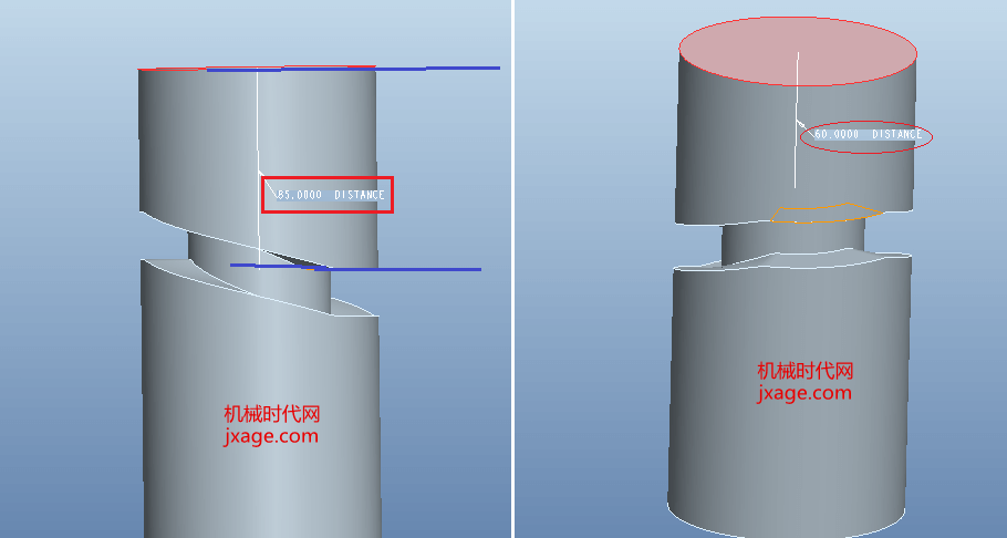 Proe通过函数创建圆柱凸轮?