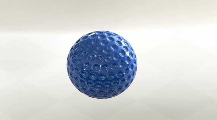 Proe利用【阵列】特征创建高尔夫球模型
