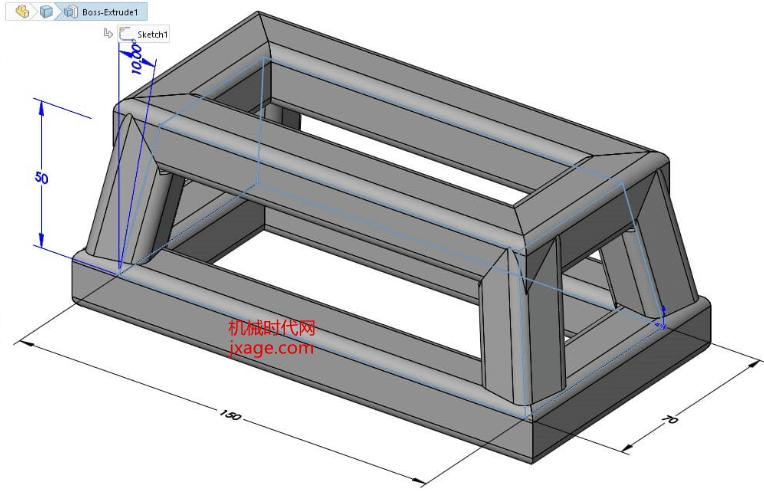 SolidWorks如何使用实体几何参照创建3D草图?