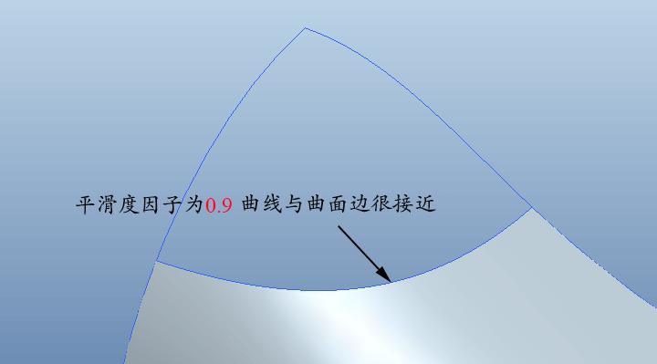 Proe边界混合命令如何设置影响曲线?