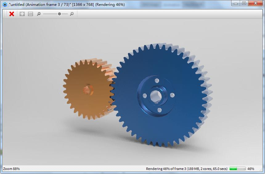 使用keyshot渲染proe仿真运动动画的方法