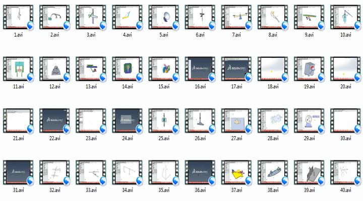Solidworks2015虚拟装配及运动仿真40例