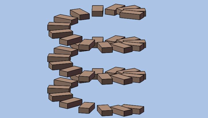 Solidworks曲线驱动的阵列如何使用?